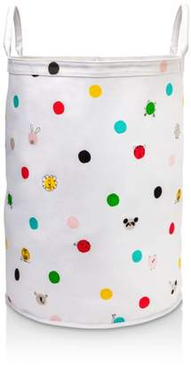 Kate Spade Hey Baby Large Round Canvas Bin