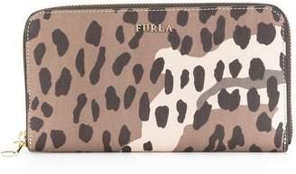 Furla leopard print wallet