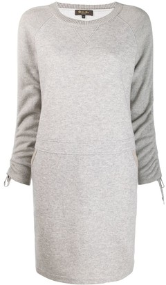 Loro Piana round neck knitted dress