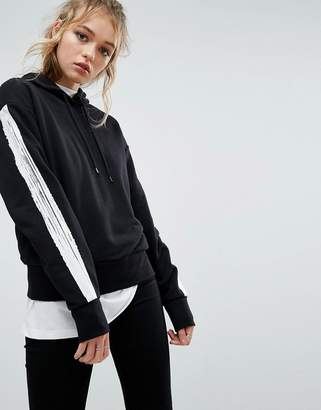 Cheap Monday Hoodie with Taping
