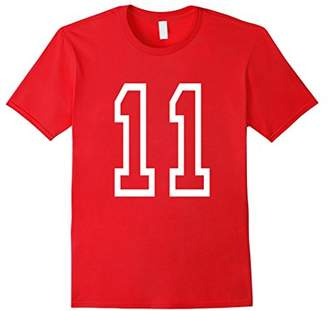 Eleven Paris Number T-shirt College Style