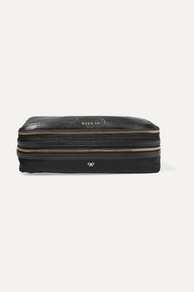 Anya Hindmarch Make Up Leather-trimmed Shell Cosmetics Case