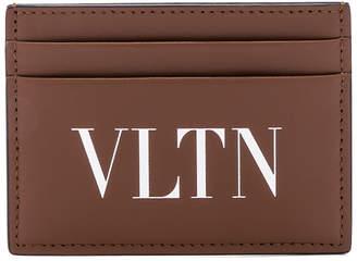 Valentino Cardholder in Cuir & White | FWRD