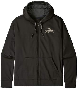 Patagonia Men's Small Flying Fish PolyCycle® Full-Zip Hoody