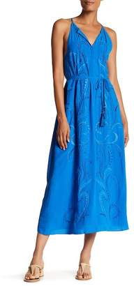 Robert Graham Tania Embroidered Maxi Dress $398 thestylecure.com