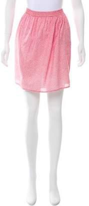 Hartford Printed Mini Skirt w/ Tags