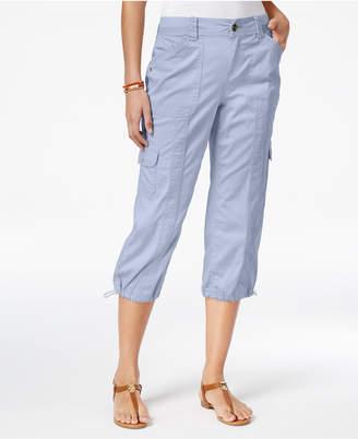 Style&Co. Style & Co Petite Cargo Capri Pants