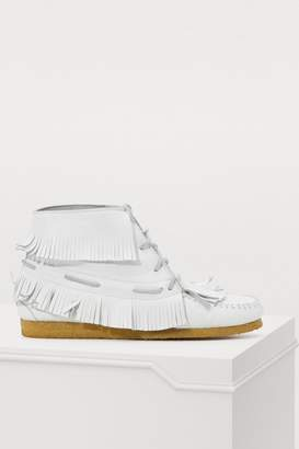 Jerome Dreyfuss Dakota fringes moccasins