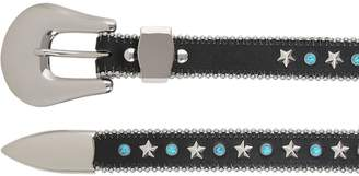 B-Low the Belt 25mm Stars & Studs Leather Belt