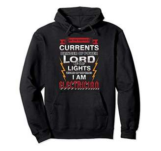 Electrician Keeper Of Current Hoodie Electrical Pullover