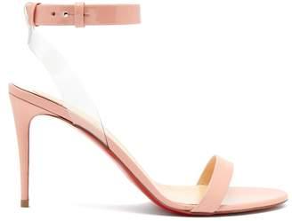 Christian Louboutin Jonatina 85 patent-leather sandals