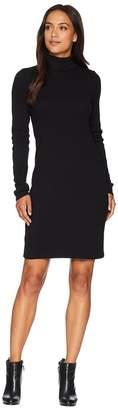 Three Dots Heritage Knit Turtleneck Dress Women's Dress