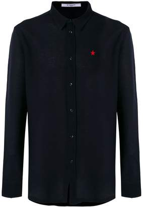 Givenchy embroidered star shirt