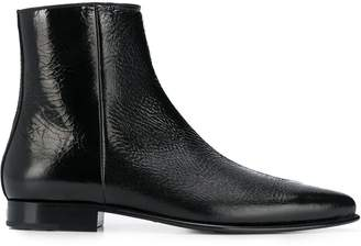 Givenchy pointed toe ankle boots