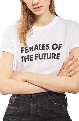 Women's Topshop Females Of The Future Tee $28 thestylecure.com