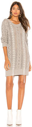 Lovers + Friends Lace Up Sweater Dress
