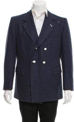 Thom Browne Double-Breasted Wool Blazer