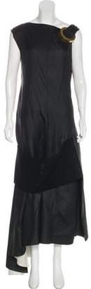 Celine Embellished Evening Dress