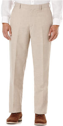 Cubavera Flat Front Easy Care Linen Pants