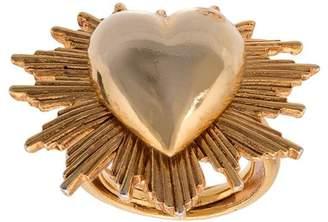Oscar de la Renta heart-shaped ring