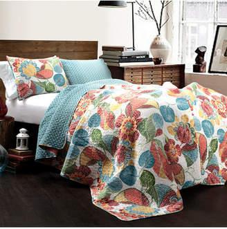Lush Decor Layla King Quilt 3Pc Set Bedding