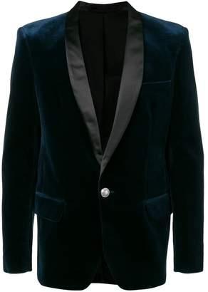 Balmain shawl lapel suit jacket