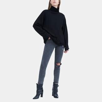 Iro . Jeans Iro Jeans Padas Shredded Turtleneck Sweater