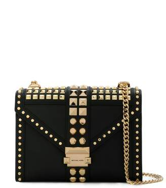 MICHAEL Michael Kors Whitney studded satchel bag