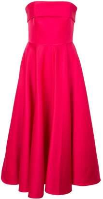 Jay Godfrey strapless midi dress