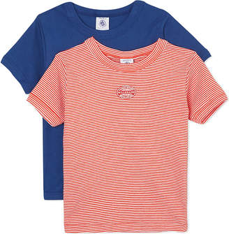Petit Bateau Pack of two t-shirts 2-12 years
