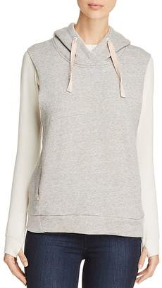 Scotch & Soda Layered-Look Hooded Sweatshirt