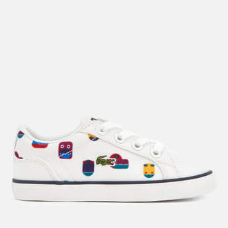 a4fe279c701d93 Lacoste Toddler s Lerond 318 5 Trainers - White White