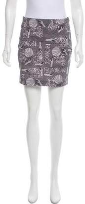 Acne Studios Printed Mini Skirt
