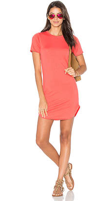 C&C California Adelise Shirt Dress in Coral. - size M (also in XS)