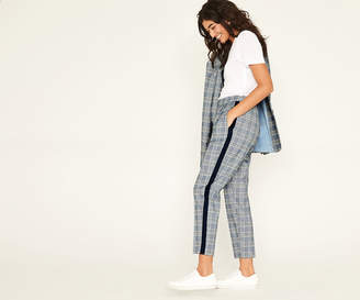 Oasis SPRING CHECK TROUSERS