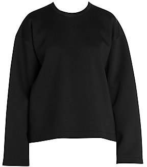 Stella McCartney Women's Fringe Jersey Sweatshirt