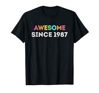 Happy 1987 It's My 31th Years Old Birthday Gift Ideas Tshirt