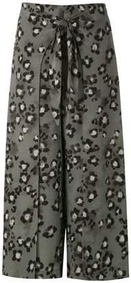 8e38f4952296 Magrella mid animal print skirt