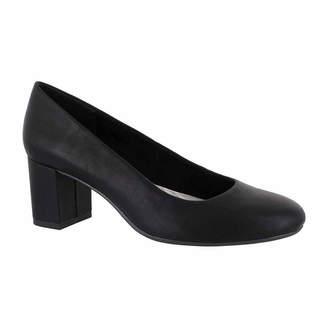 Easy Street Shoes Womens Proper Pumps Slip-on Round Toe Block Heel