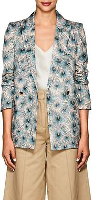 BLAZÉ MILANO Women's Everyday Floral Silk Blazer