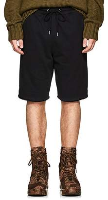 Helmut Lang Men's Cotton Terry Basketball Shorts