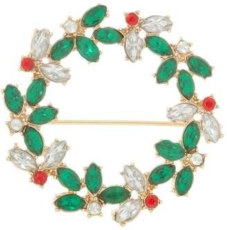Design Studio Christmas Wreath Brooch
