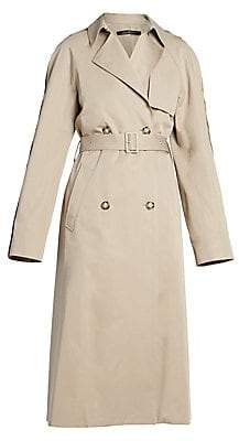 Rokh Women's Double-Breasted Trench Coat