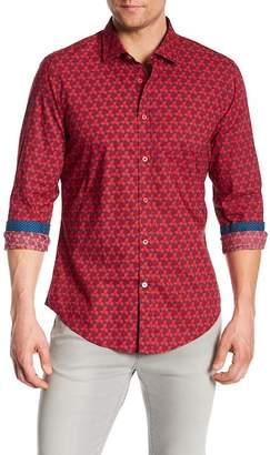 Ganesh Geometric Print Shirt