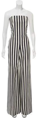Chanel Paris-Dallas Striped Wide-Leg Jumpsuit