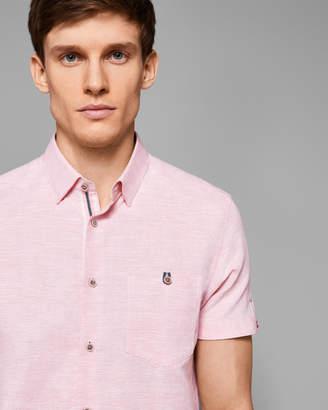 Ted Baker PEEZE Cotton-linen shirt