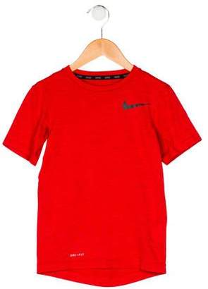 Nike Boys' Short Sleeve Crew Neck Shirt