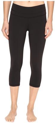 Lucy - Studio Hatha Capri Legging Women's Capri $79 thestylecure.com