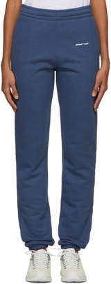 Off-White Blue Logo Lounge Pants