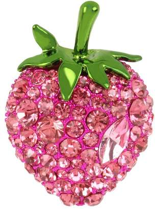 Betsey Johnson Strawberry Ring - Size 7.5